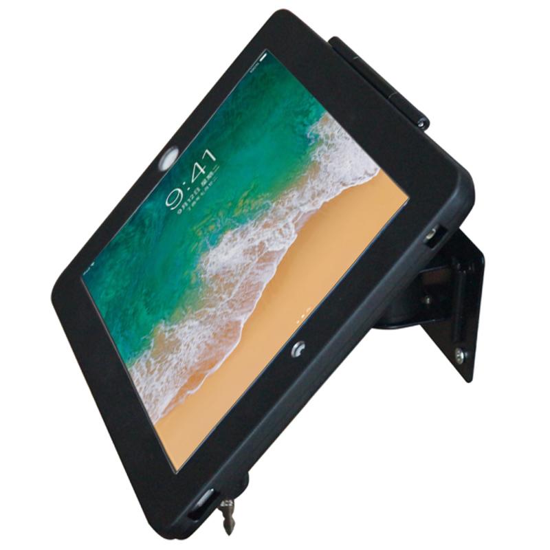 iPad支架墙壁固定多角度万向调节旋转支架懒人防盗铝合金展示支架