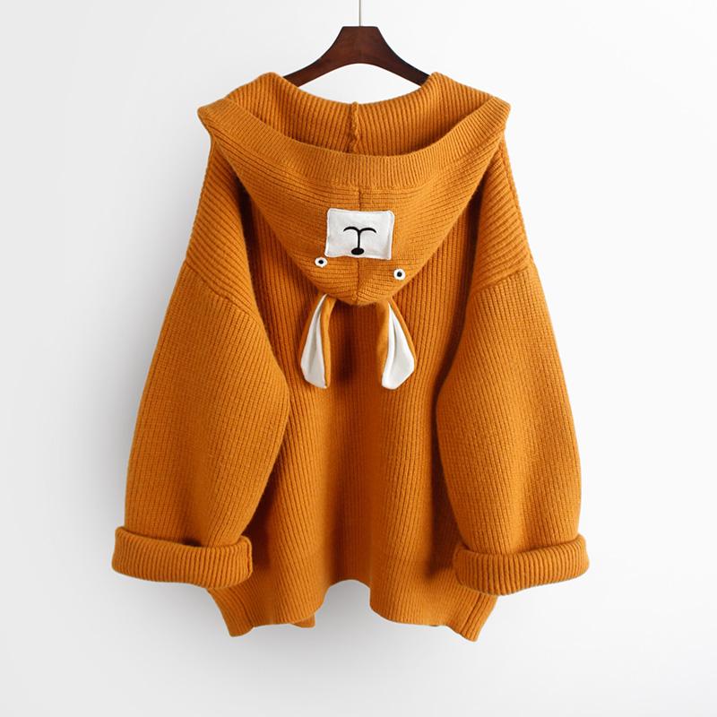 装中长款秋季宽松毛衣加厚上衣