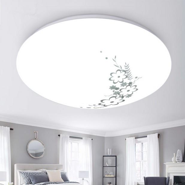 圆形吸顶灯家用卧室客厅灯饰阳台过道厨房卫生间灯具 led 现代简约