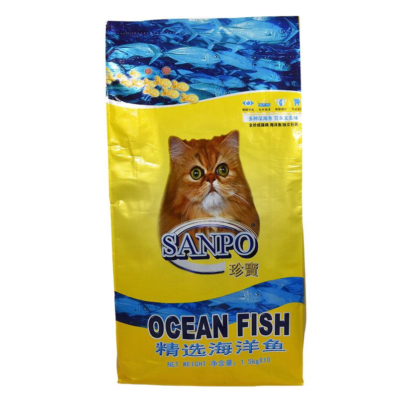 珍宝精选海洋鱼成年猫粮海洋鱼味15kg成猫通用型<a href=