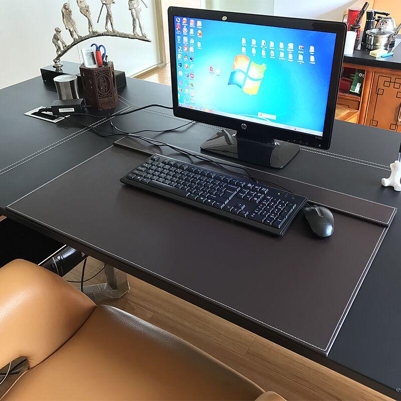 商务办公桌垫书桌垫写字桌垫电脑桌垫鼠标垫子办公垫皮垫台垫板