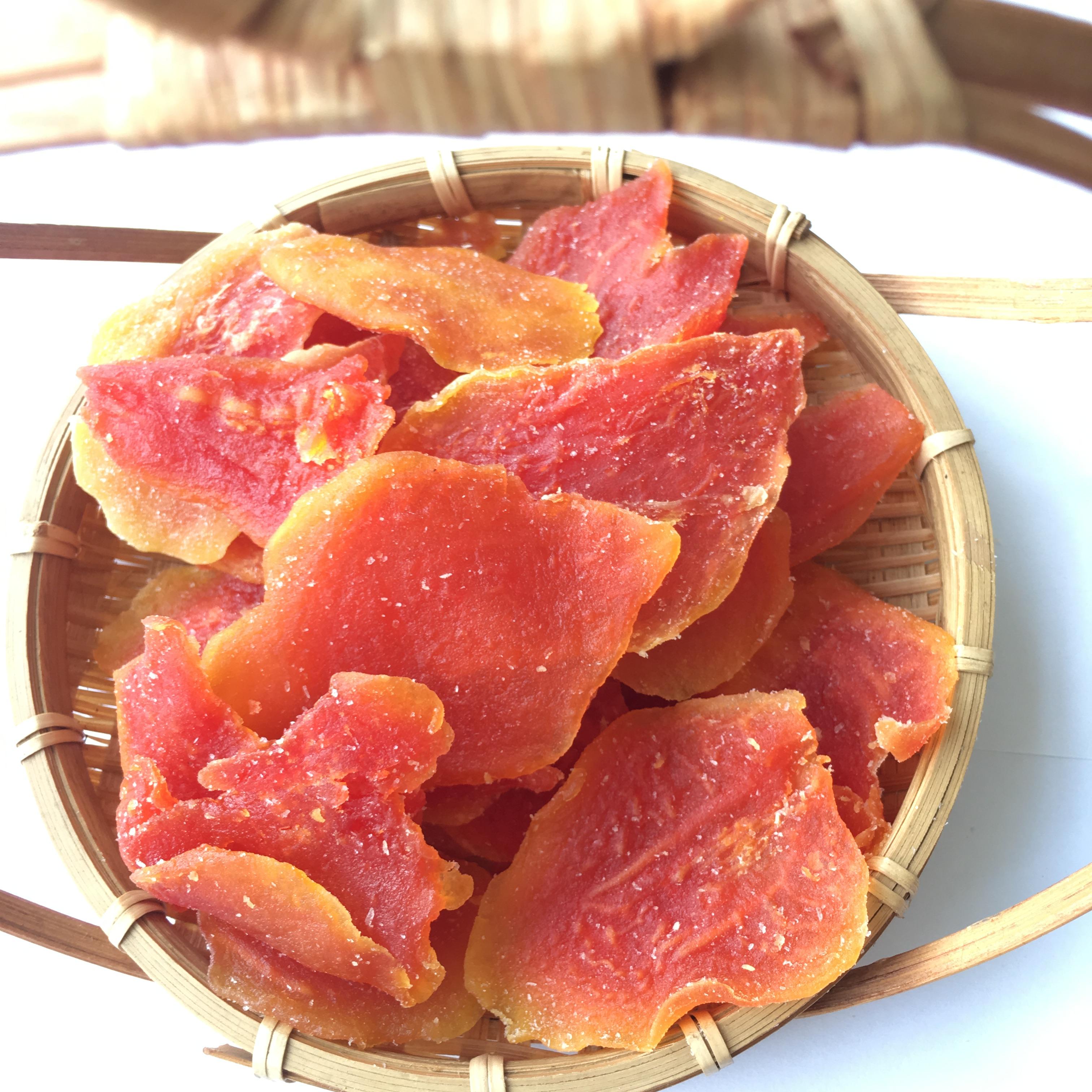 包邮泰国进口木瓜干木瓜片散装1kg休闲零食特产泡水散装厂家