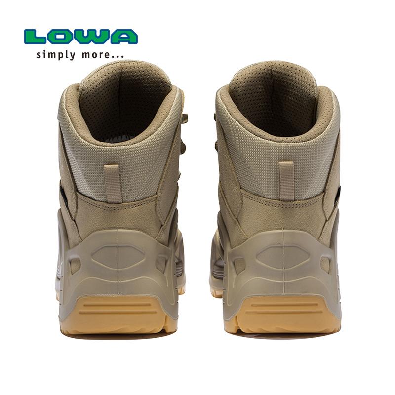 LOWA户外ZEPHYR GTX TF男女沙色中帮防水作战战术靴军靴 L310537