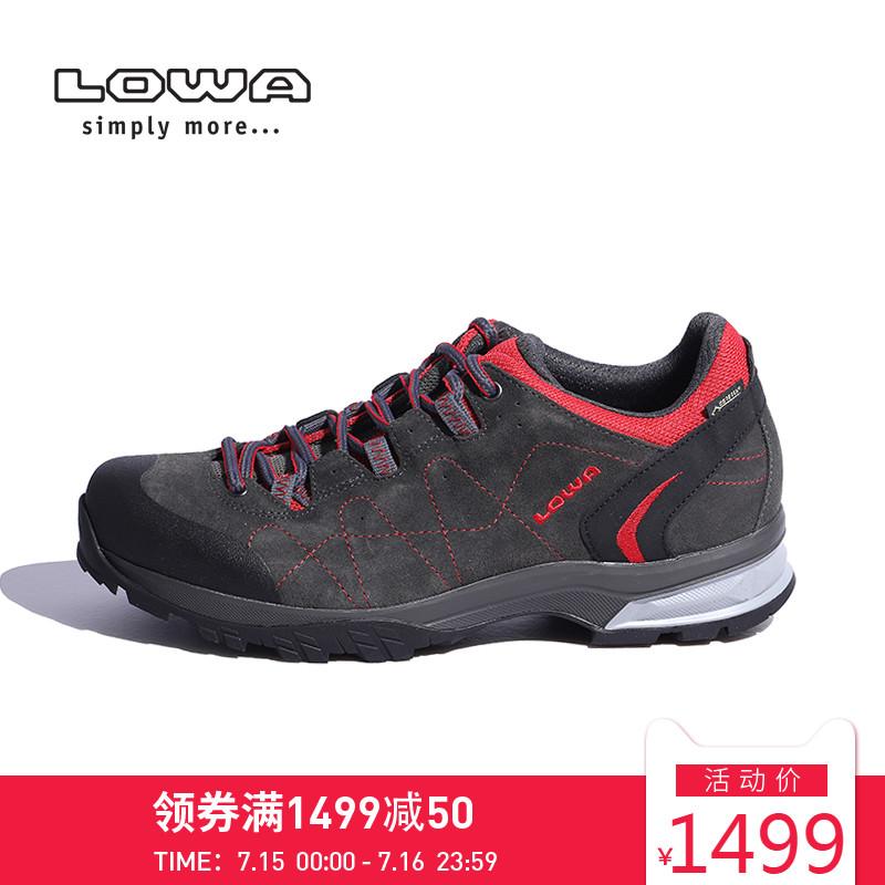 LOWA戶外FOCUS GTX男式低幫防水防滑透氣耐磨登山徒步鞋 L210715