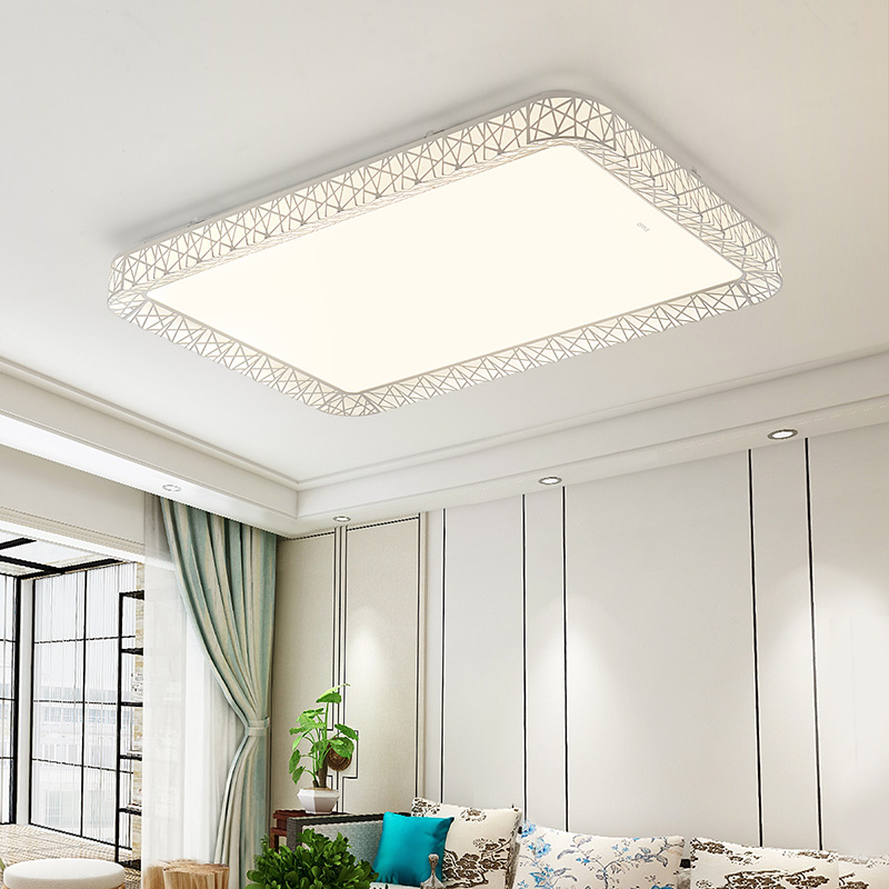 欧普照明客厅卧室房间书房LED吸顶灯具现代简约大气温馨TC A