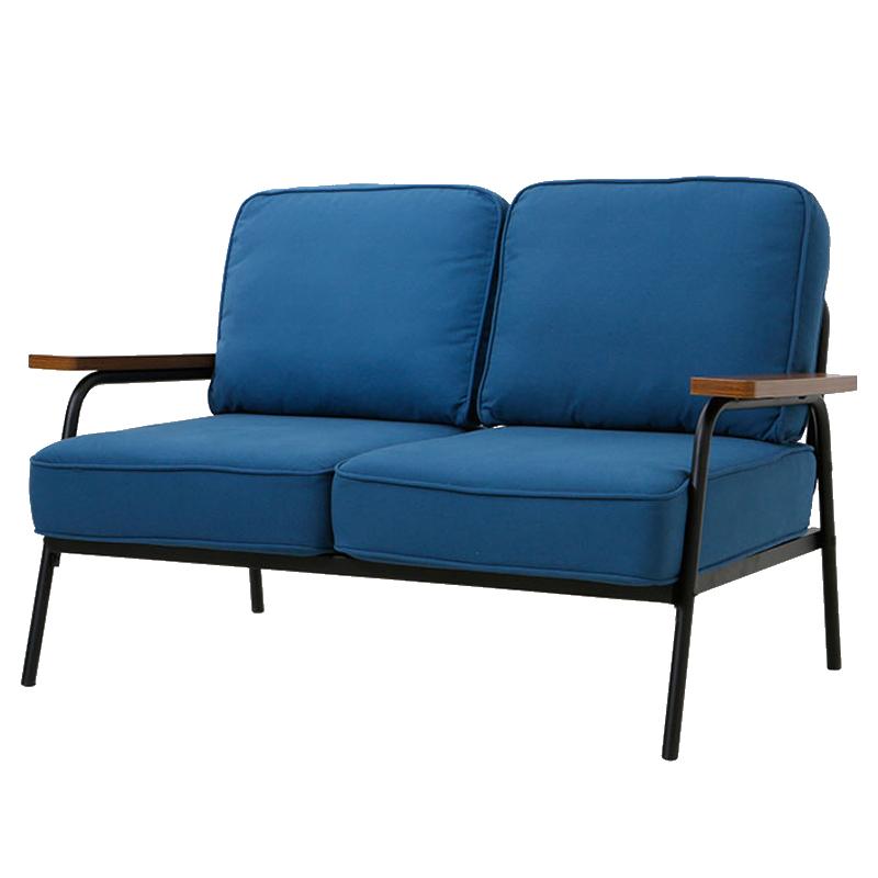 北欧布艺沙发 现代小户型整装双人组合简约风格家具客厅铁艺沙发