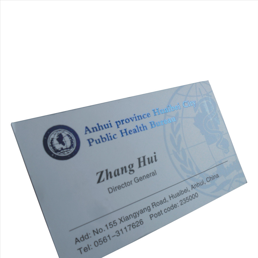 Buy Production design process card hot gold gilt silver hot stamping ...