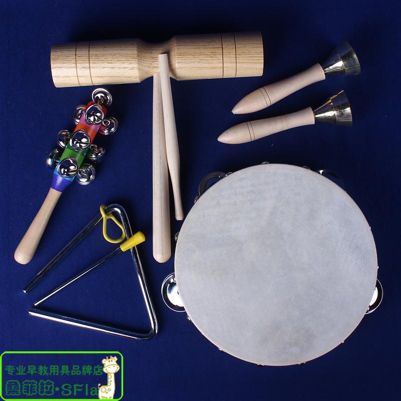 奥尔夫打击乐器幼儿园小学早教音乐课舞蹈课精装套装组合原木套餐