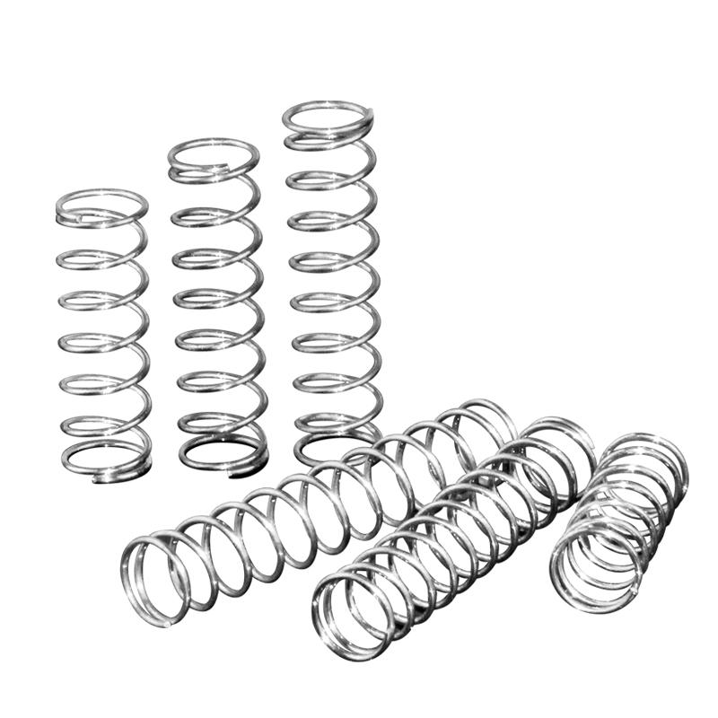不锈钢弹簧 压簧 304现货线径0.2-2.0耐高温316强力细小弹簧定做