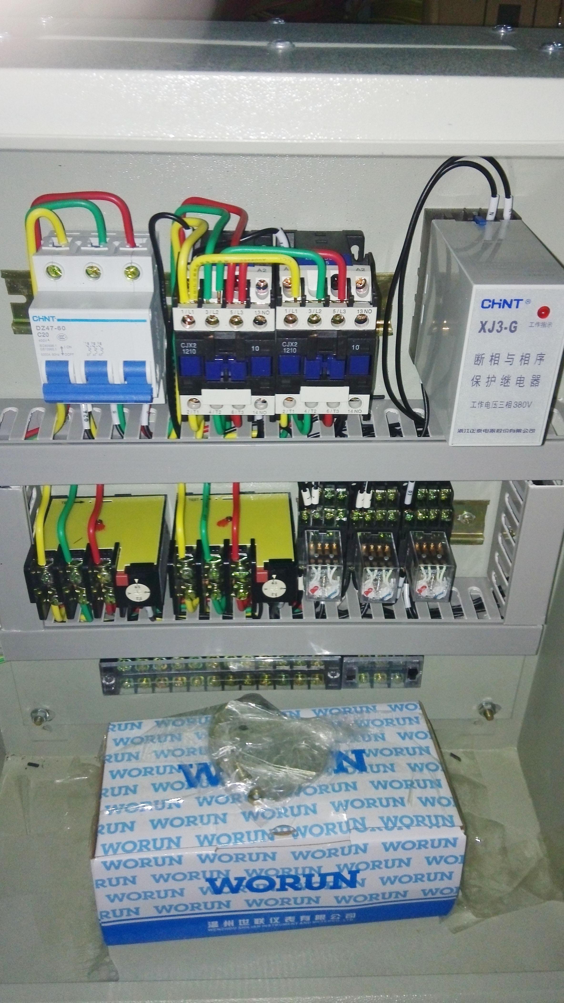 批发定做控制柜配电箱水泵箱风机 路灯箱消防非标家用小区工地箱