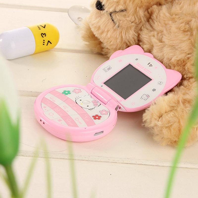 翻盖可爱迷你男女生小学生儿童卡通袖珍小手机低辐射 T99 酷和 KUH