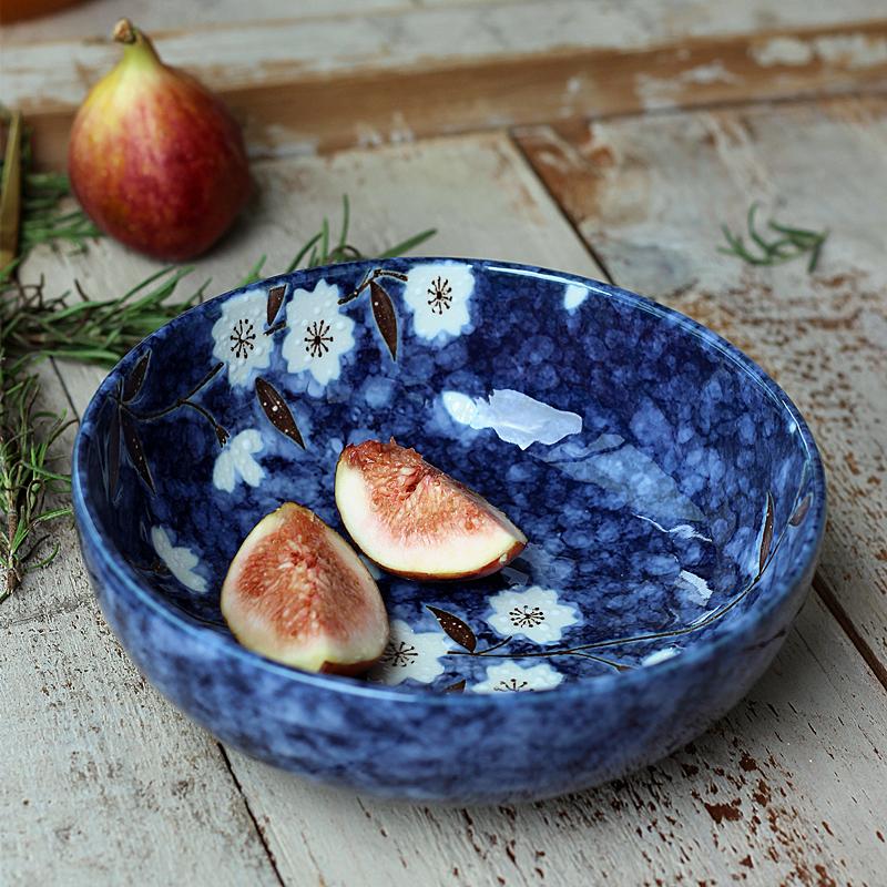 日本製造進口餐具美濃燒日式餐具陶瓷小菜碗櫻花小湯碗送人佳禮