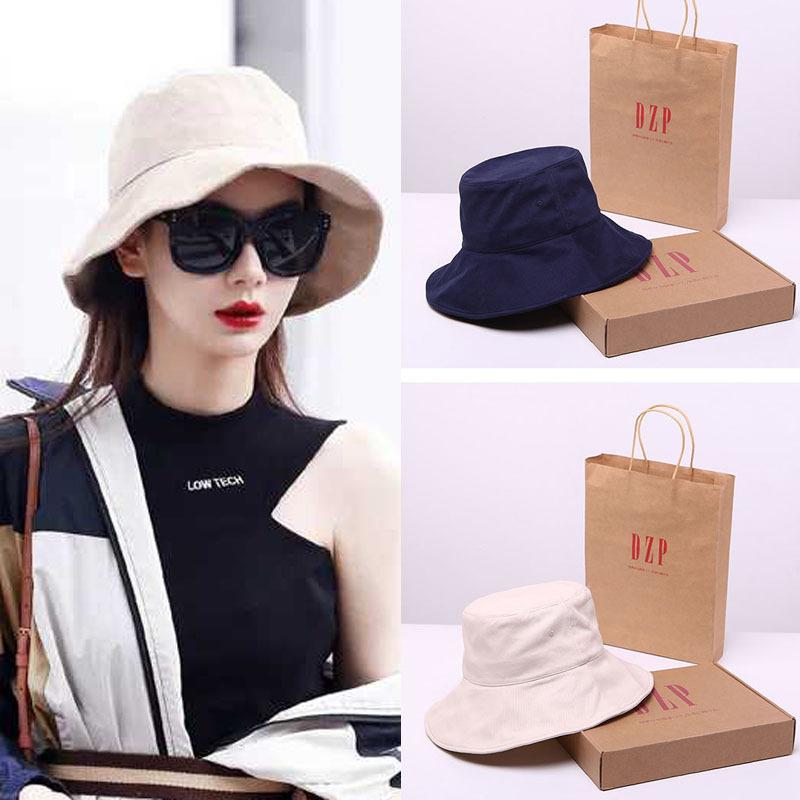 女百搭韩版帽子戚薇同款渔夫帽女日系迪丽热巴防晒帽遮阳帽大帽檐