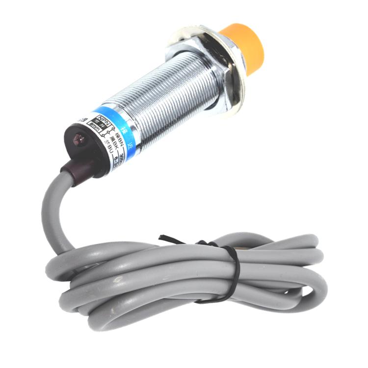 沪工接近开关电感式LJ18A3-8-Z/BX直流三线常开NPN6-36v传感器M18