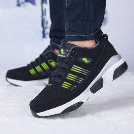 冬季回力男鞋高帮棉鞋保暖加绒加厚学生运动鞋冬天雪地靴东北棉靴