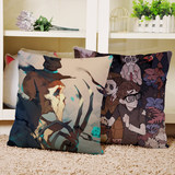 Gardener Doctor Fifth Anime Peripheral Customized Map Customized Pillow Sofa Cushion Personality Cushion Sleeping Pillow