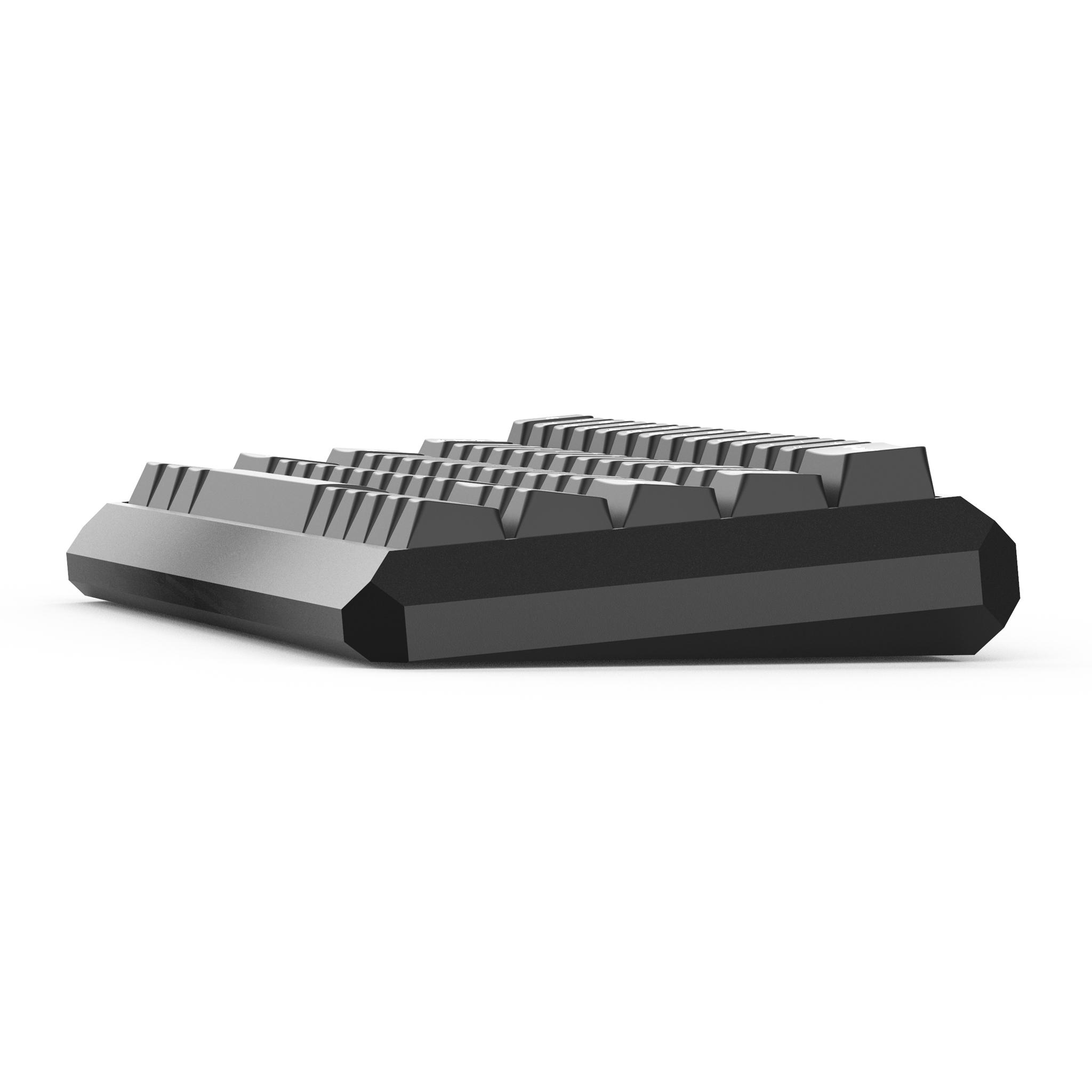 KBDfans客制化机械键盘外壳5度60%阳极氧化CNC铝gh60五度金属底座