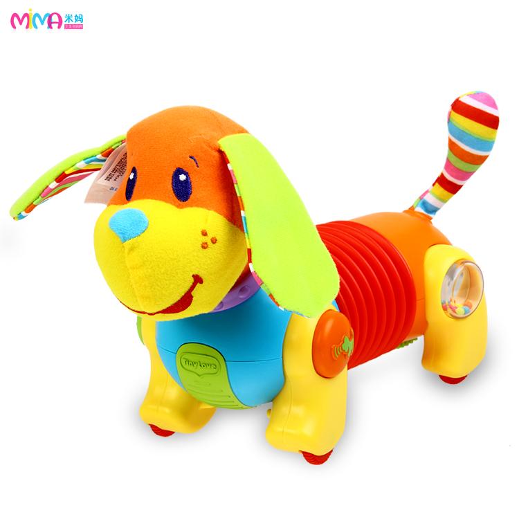 美国TINY LOVE 爬行训练音乐宠物狗玩具 婴幼儿益智小狗玩具
