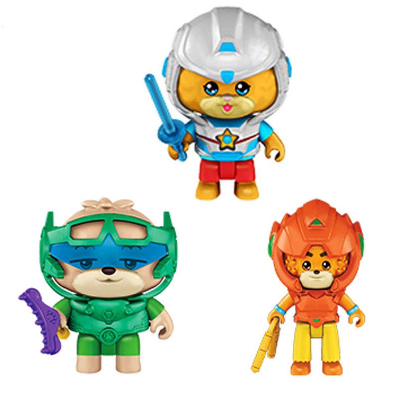 宝狄与好友之人物装备套装 高弟 玲玲 飞少 宝狄 FBW00儿童玩具