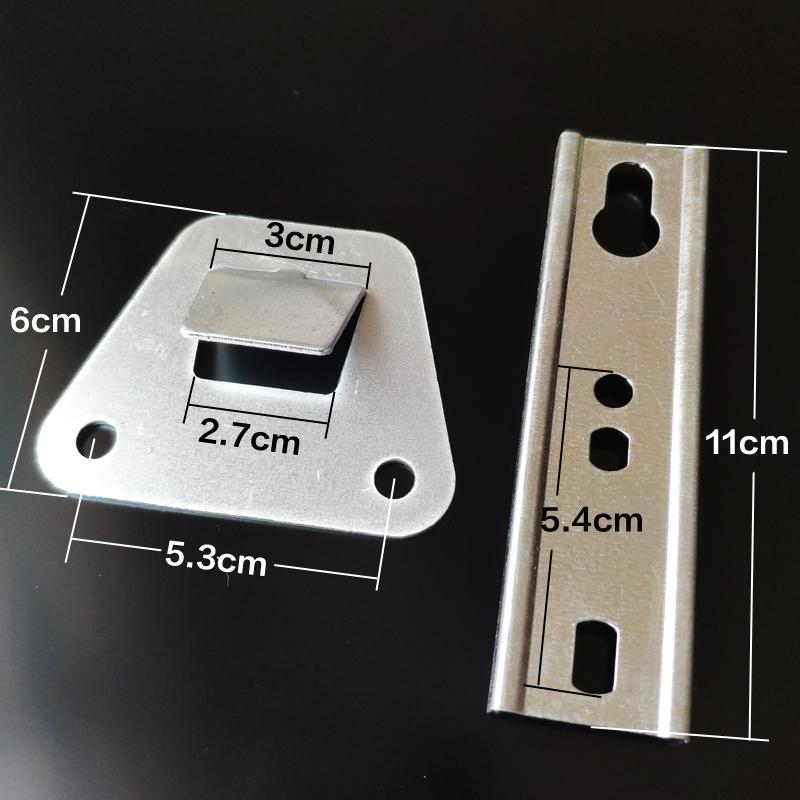 欧式侧吸抽油烟机挂板高强度结构钢中式挂件通用挂钩挂架挂片配件