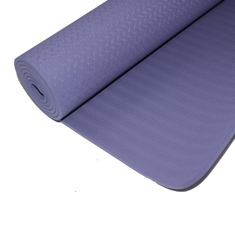 qlee瑜伽垫男女健身垫练功垫舞蹈训练家用运动加厚防滑无味初学者