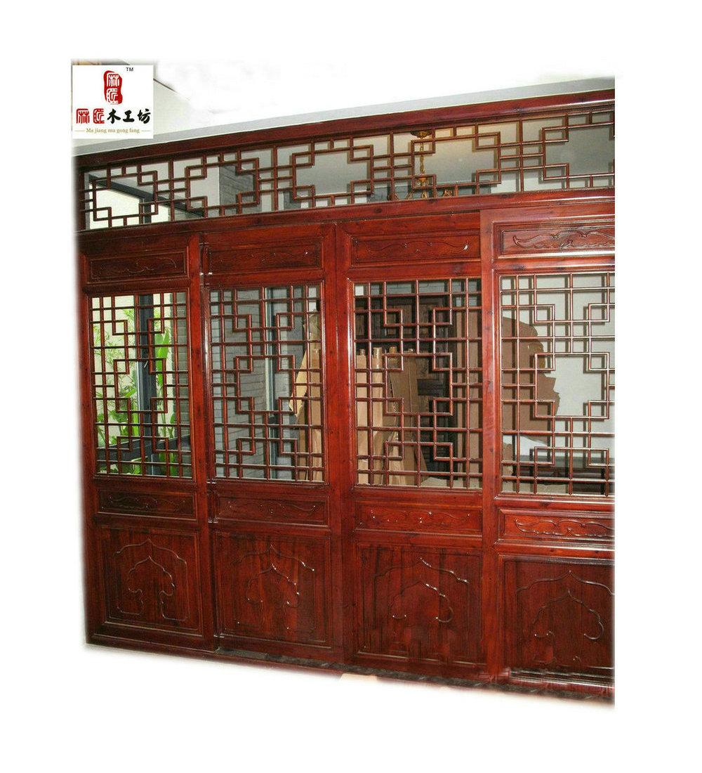 Buy Kob brand solid wood doors sliding door track pulley hanging ...