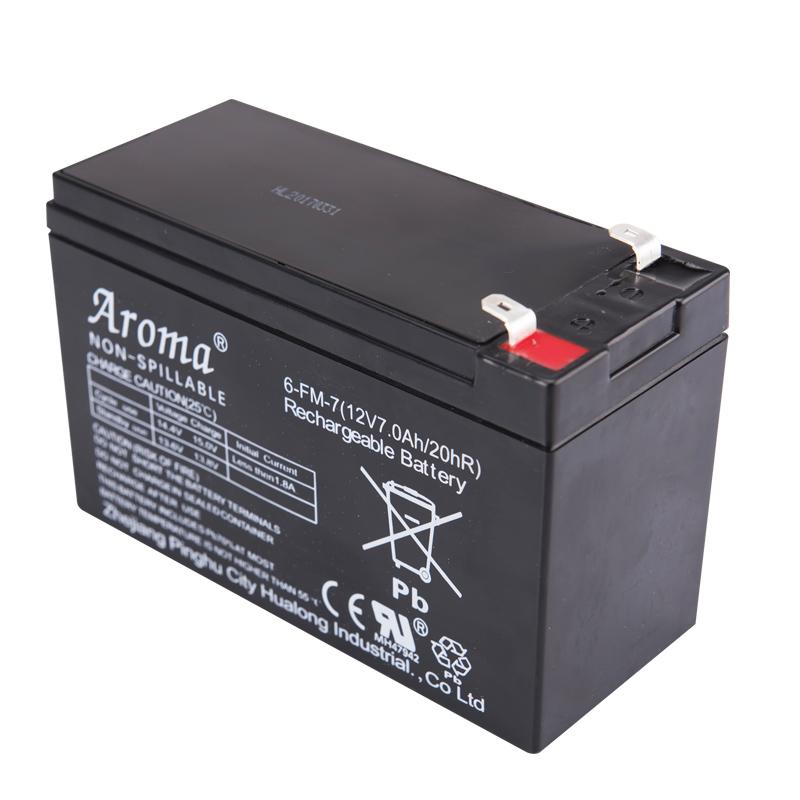 Aroma6-FM-7(12V7Ah20hR)儿童电动车玩具汽车摩托童车电瓶蓄电池