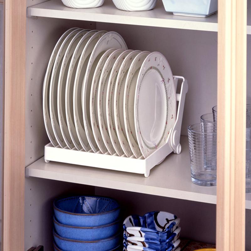 出口日本摺疊碗盤收納架碗碟架瀝水架茶水杯濾水收納架廚房置物架
