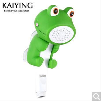 凱鷹 兒童花灑洗澡玩具淋浴噴頭卡通手持淋浴器蓮蓬頭套裝TH1132