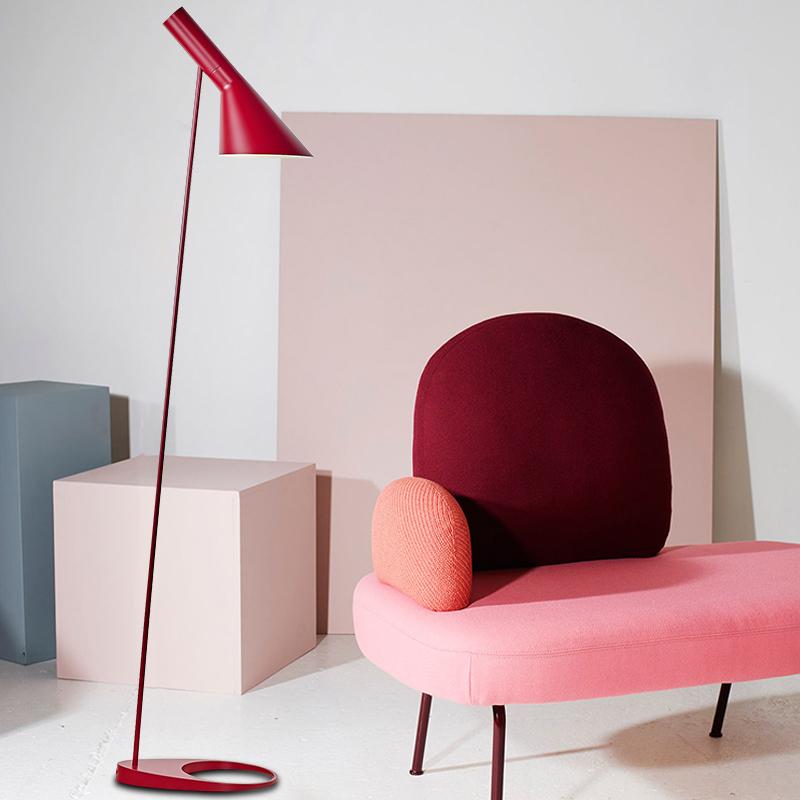 地灯客厅卧室书房落地灯 LED 设计师部落北欧后现代简约创意可调节