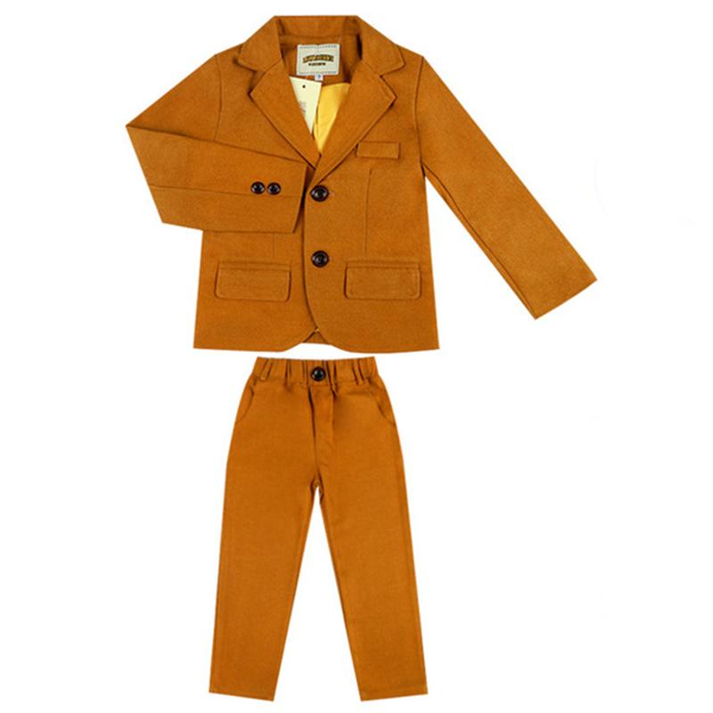 小童儿童男宝西装套装1-3岁7宝宝小西服男童时尚礼服帅气韩版洋气