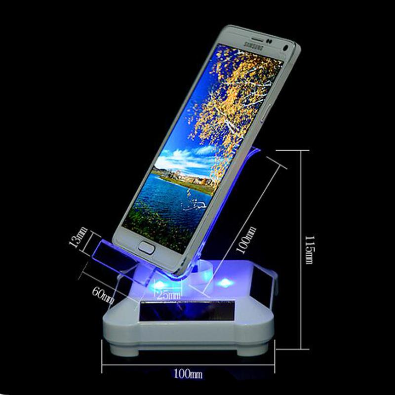 苹果手机旋转展示台三星旋转托盘手机展示架太阳能转盘电动大屏幕