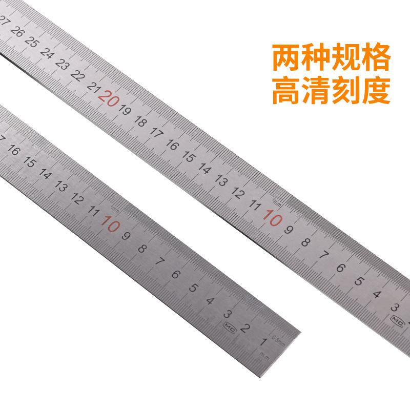 加厚角度尺90度不锈钢木工装修宽座直角尺木工拐尺L型板尺靠尺