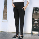Maternity wear commuter tool stomach lift pants spring and autumn new products pregnant women harem pants feet trousers sm-2821