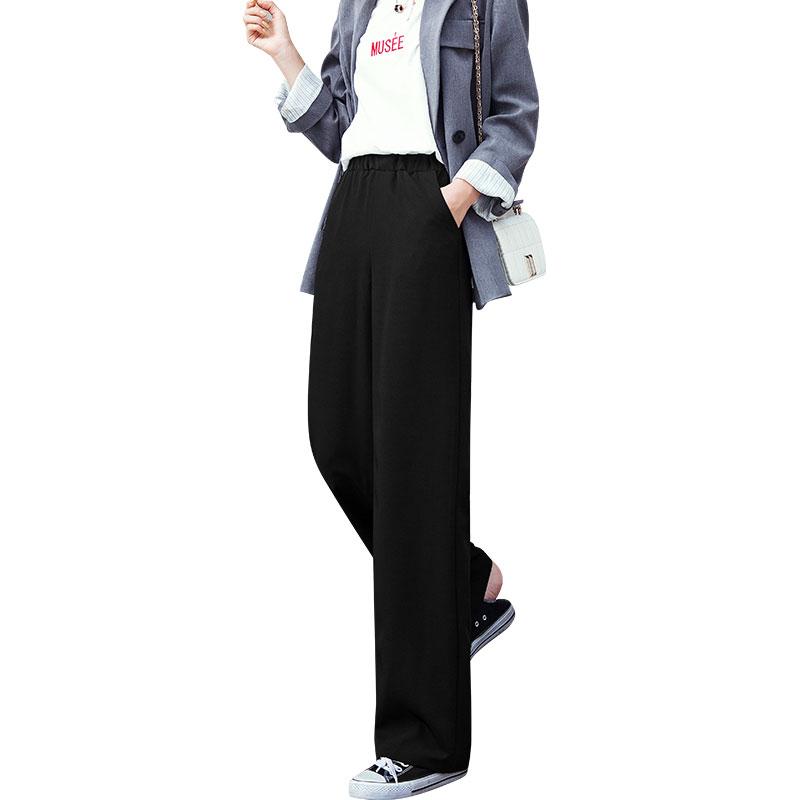 西装阔腿裤女裤子高腰小个子春装搭配155显高穿搭春季矮个子150cm
