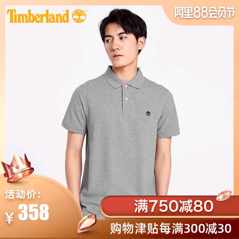 【經典款】Timberland添柏嵐男裝短袖Polo戶外T恤衫|A1A2E