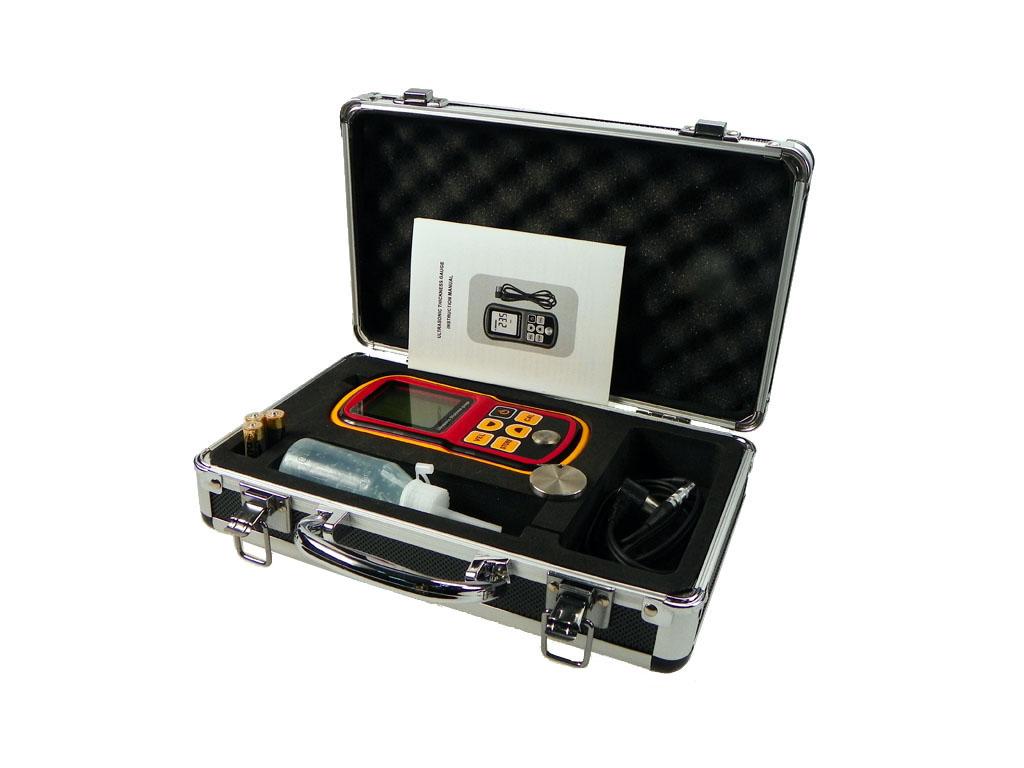 标智GM100超声波测厚仪数显厚度测量仪玻璃塑料金属钢板测厚仪