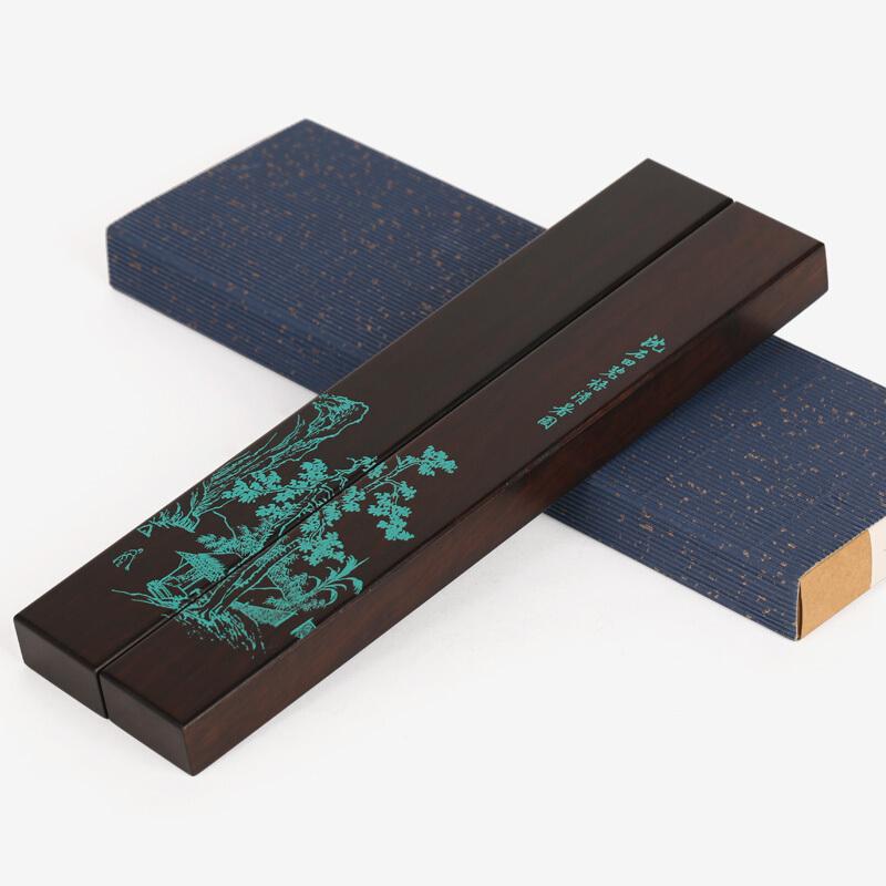 黑檀木质书枕实木雕刻压镇子镇纸