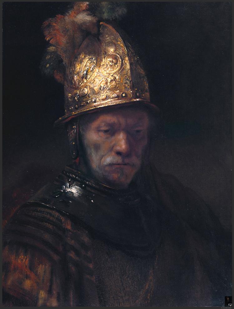 世界名画伦勃朗高清油画临摹设计素材装饰画素材总共有54张5.19GB