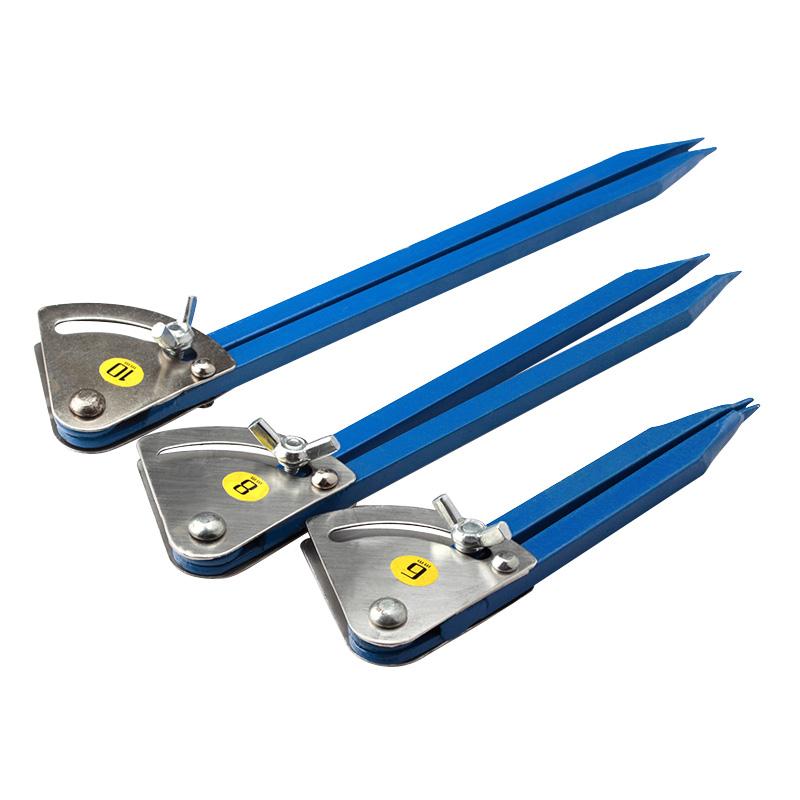 划规工业用圆规角度规木工划线器划针钳工划针划线圆规画圆定位器
