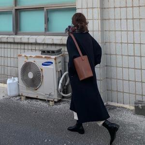 HEYGIRL黑哥 加厚长款50羊毛毛呢大衣女 韩版抗风呢子外套2019冬