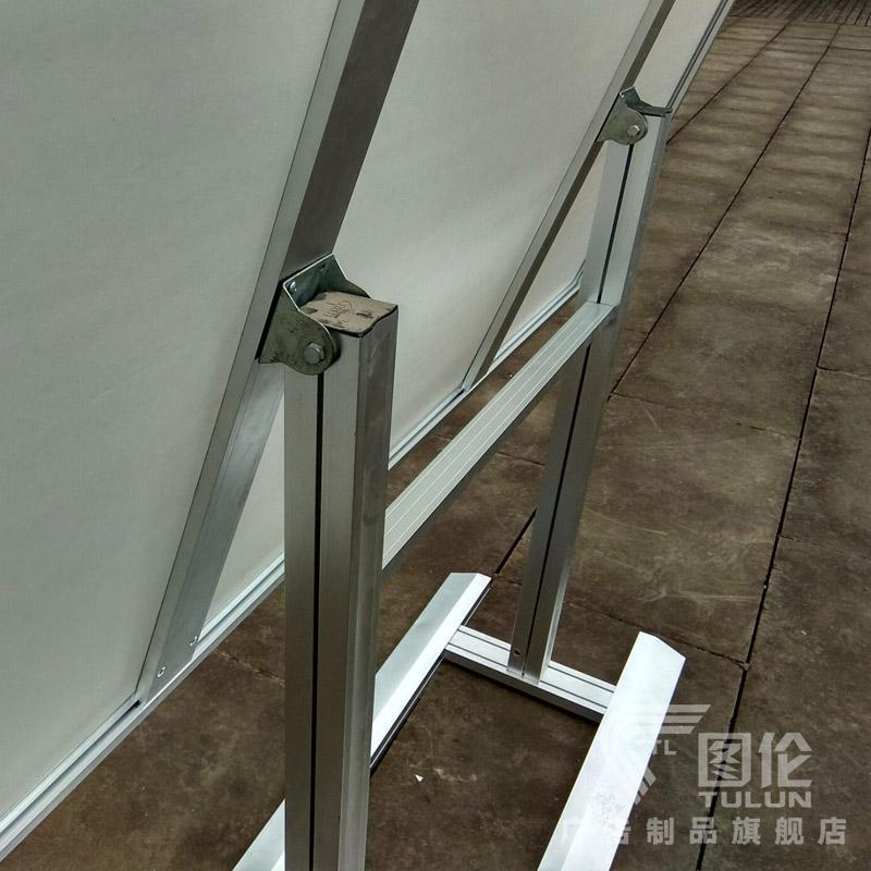 坐式斜面宣传栏室内宣传栏海报框公告栏告示栏活动展板公示栏