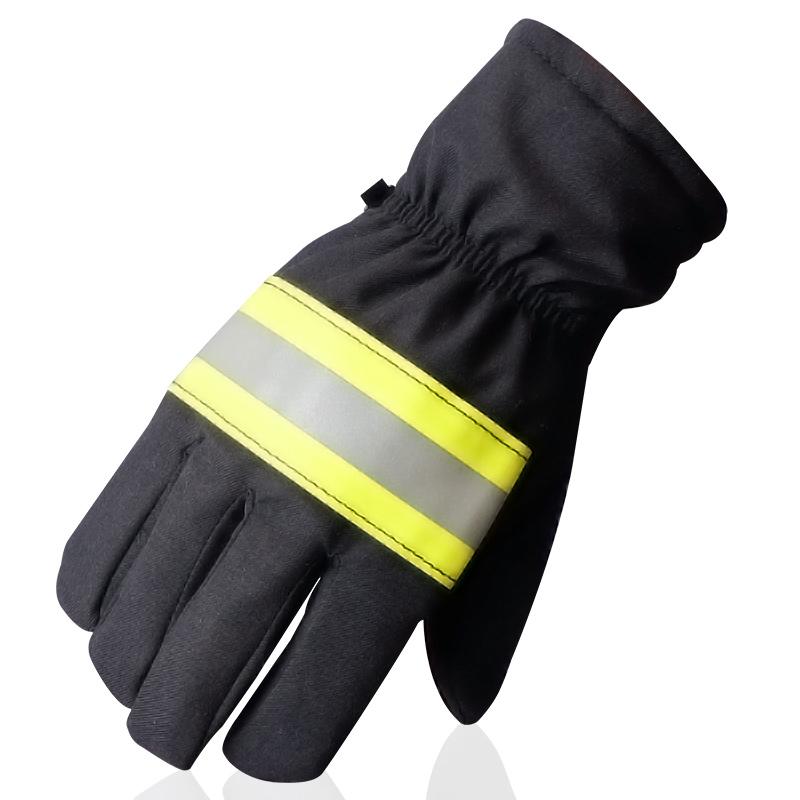 02款消防阻燃防火手套家用防护防水耐磨阻燃高温隔热手97款/14款