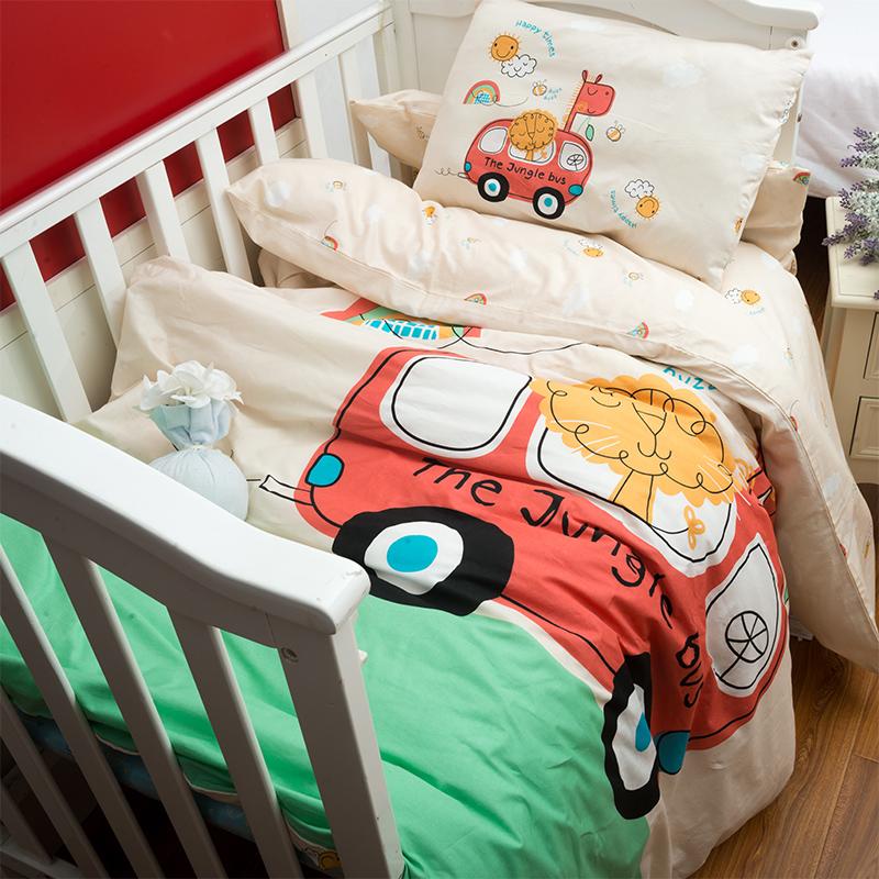幼儿园被子三件套四季通用冬季儿童被子入园被褥宝宝午睡被六件套