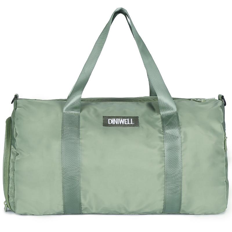 短途旅行包女手提待产包大容量防水可折叠健身包男旅游出差行李袋