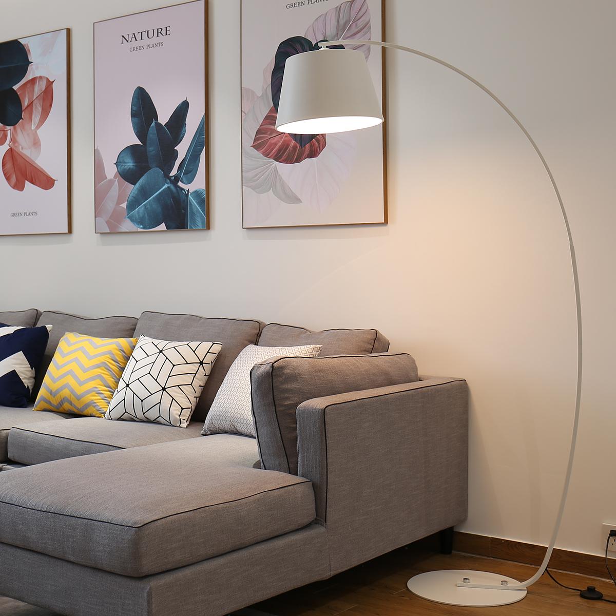 落地灯钓鱼灯客厅卧室书房创意简约现代北欧沙发床头立式遥控台灯