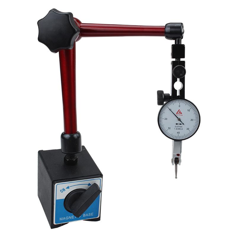 机械磁力大表座磁性强力杠杆百分表座支架强磁万象大表座坐万向