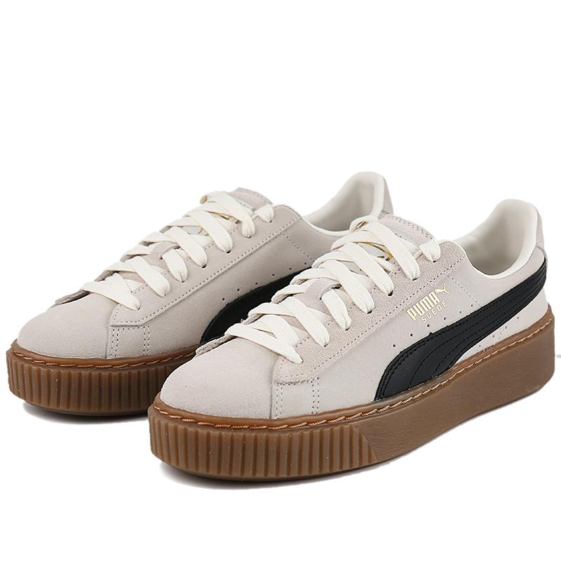 PUMA彪马女鞋2021春季新款松糕鞋厚底蕾哈娜运动休闲鞋板鞋363559