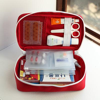 居家旅游应记箱 要品收纳包便携式医要包医疗包 旅行户外急救包