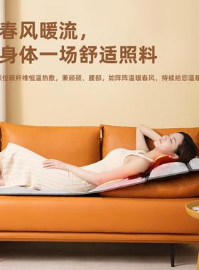 家用全身按摩椅垫颈椎背腰部全自动按摩床垫多功能揉捏小型按摩器